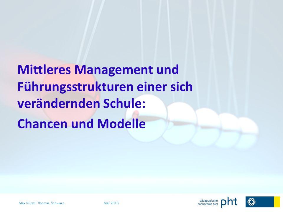 Gelingensbedingungen: - Akzeptanz - Transparenz - quick-win-Orientierung - step by step (Weniger ist mehr) - Feedback-Kultur (niederschwellig beginnen) Max Pürstl, Thomas SchwarzMai 2013