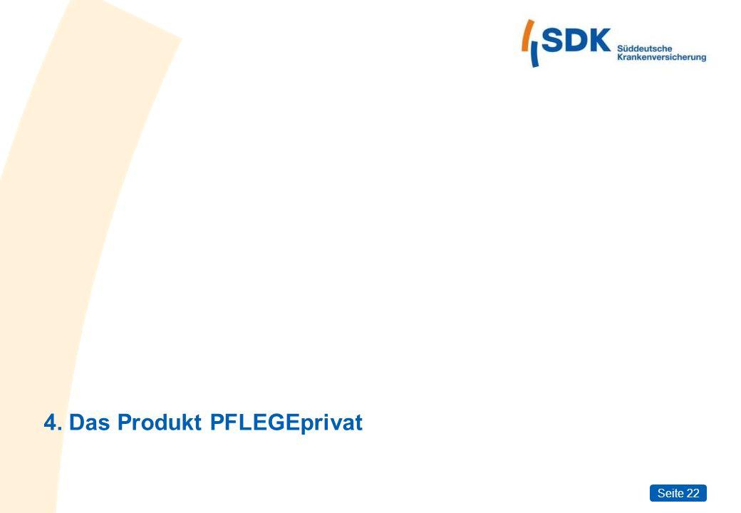 Seite 22 4. Das Produkt PFLEGEprivat