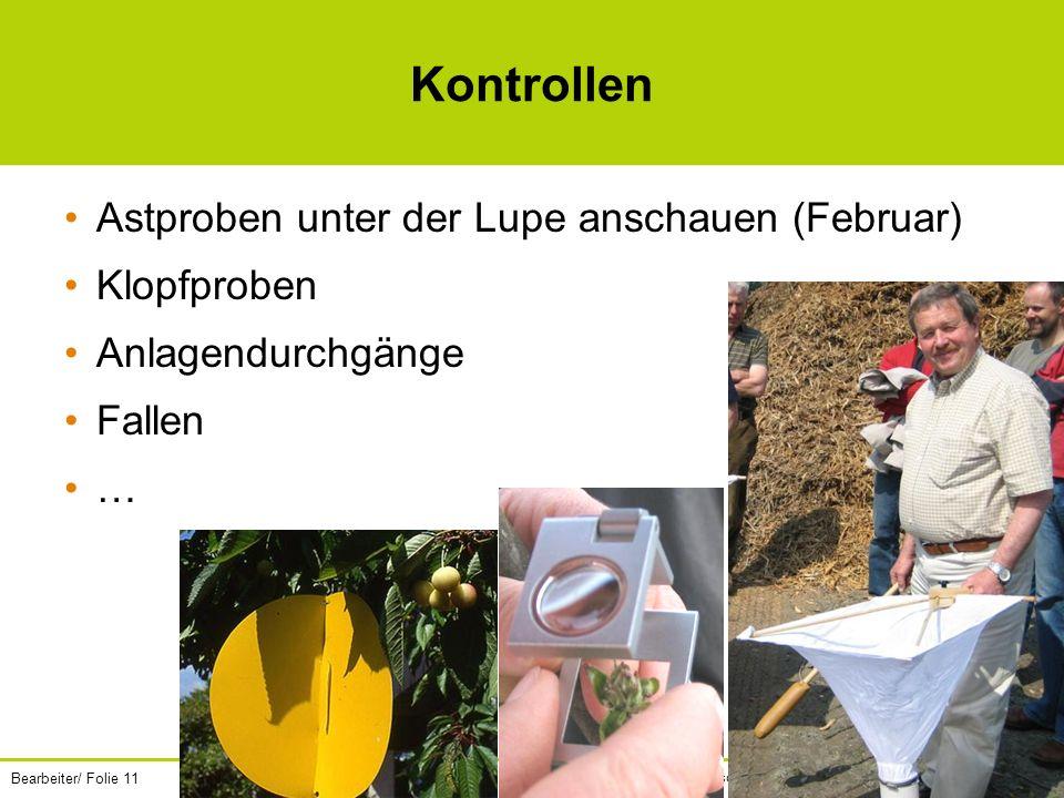 Bearbeiter/ Folie 11 Unsere Land- und Forstwirtschaft.