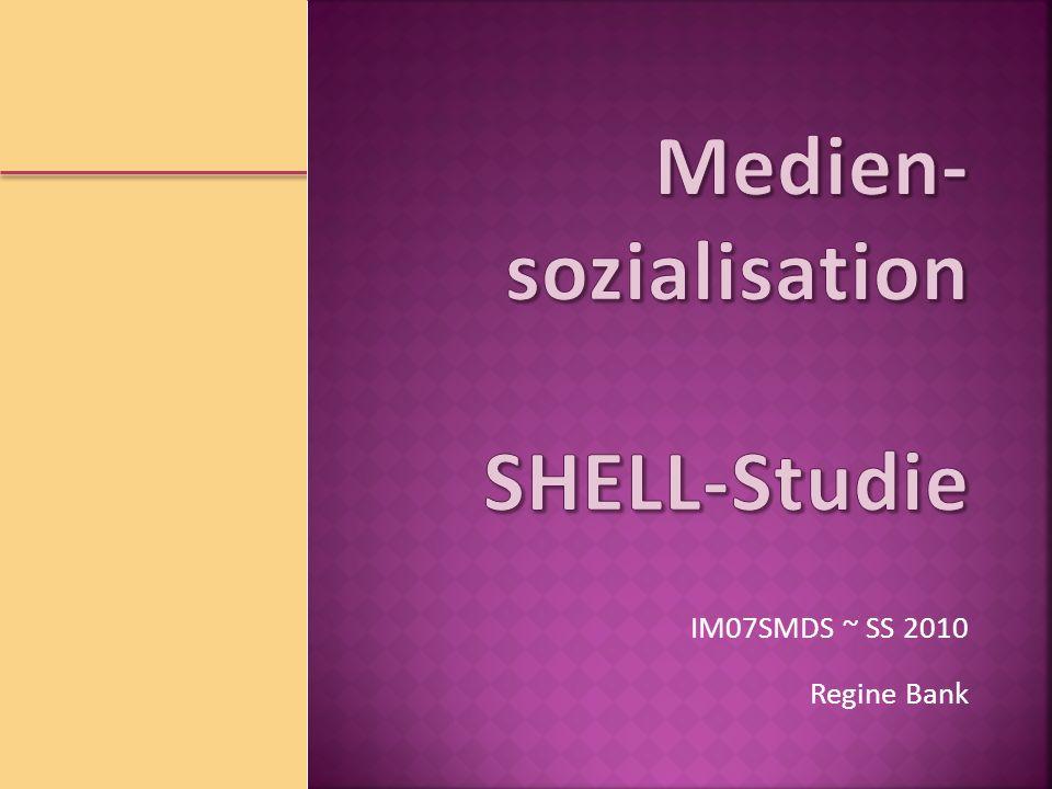 SHELL-Studie www.shell.de/jugendstudiewww.shell.de/jugendstudie Internet Alle sind im Internet Religion – weiter im Abseits Nicht ohne meine Familie Werte – pragmatisch, aber nicht angepasst SS 2010 E.
