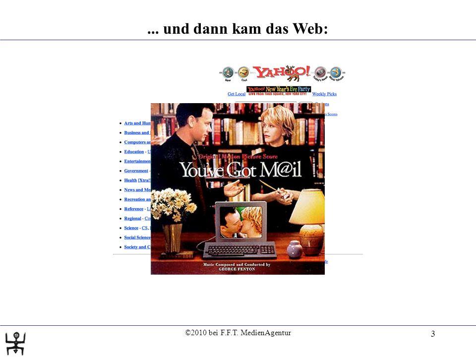 ©2010 bei F.F.T. MedienAgentur 4... und dann das Social-Web (2.0)...