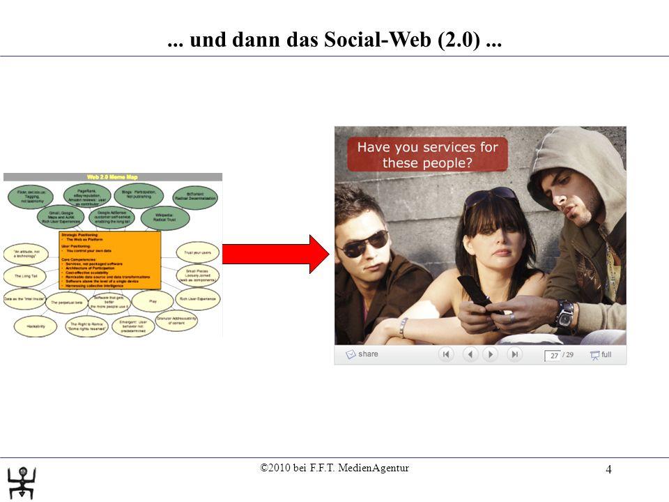 ©2010 bei F.F.T. MedienAgentur 5 Internet- und E-Mail-Nutzung 2010: