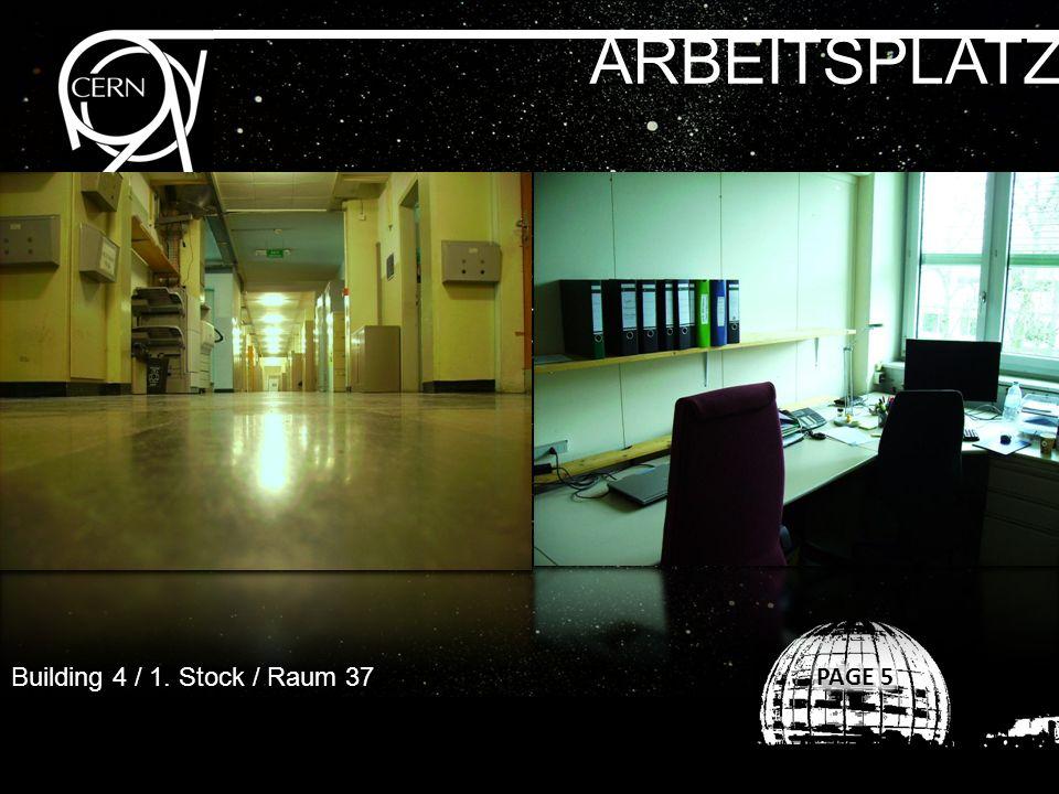 ARBEITSPLATZ Building 4 / 1. Stock / Raum 37