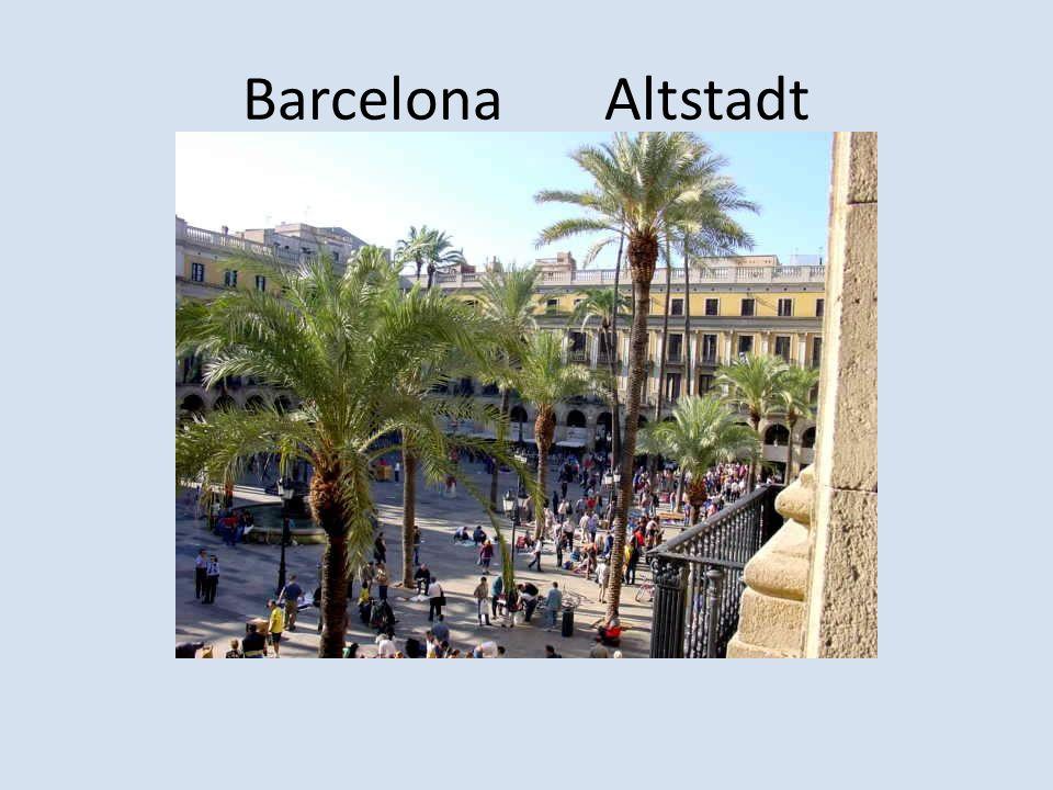 Barcelona Altstadt