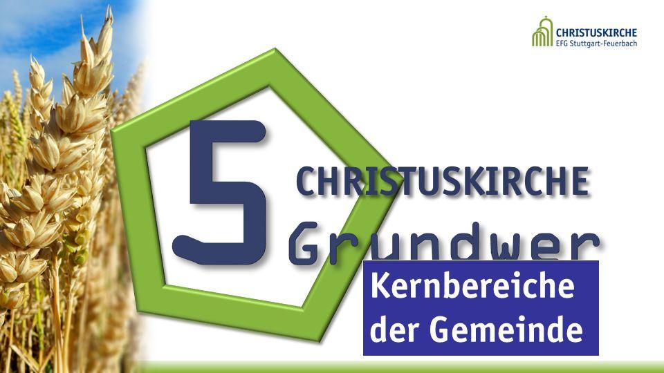 CHRISTUSKIRCHE Kernbereiche der Gemeinde