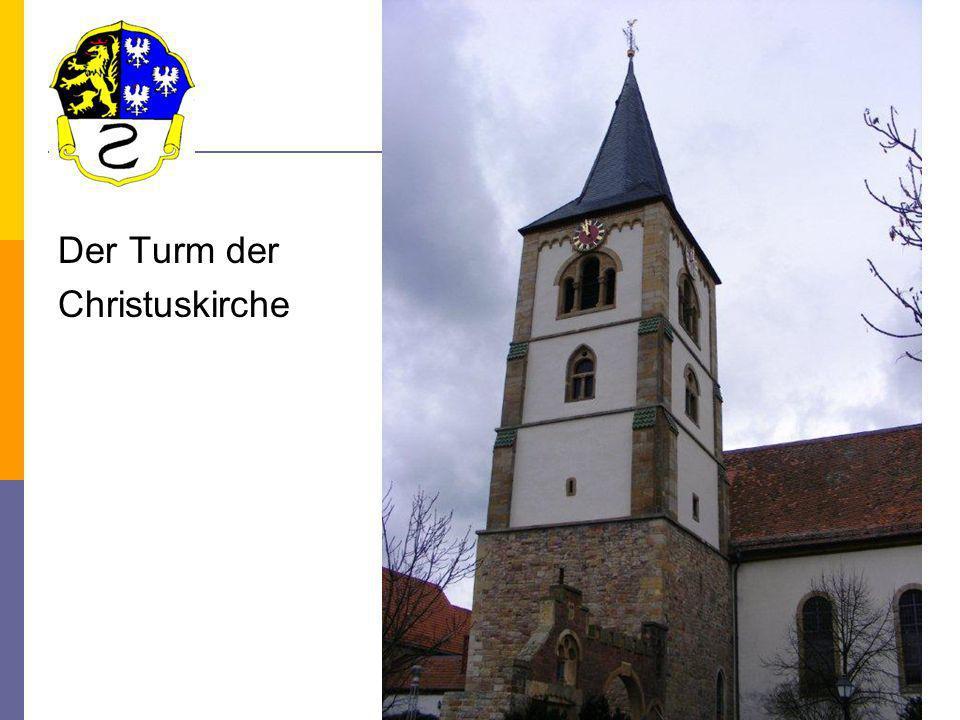 Der Turm der Christuskirche 2