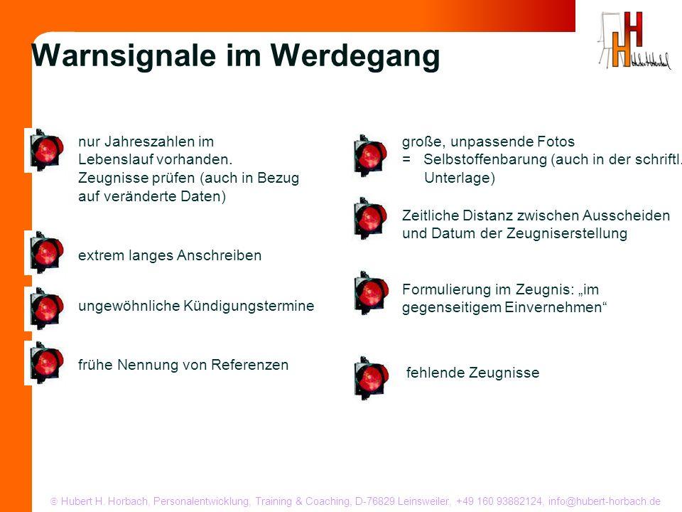 Hubert H. Horbach, Personalentwicklung, Training & Coaching, D-76829 Leinsweiler, +49 160 93882124, info@hubert-horbach.de nur Jahreszahlen im Lebensl