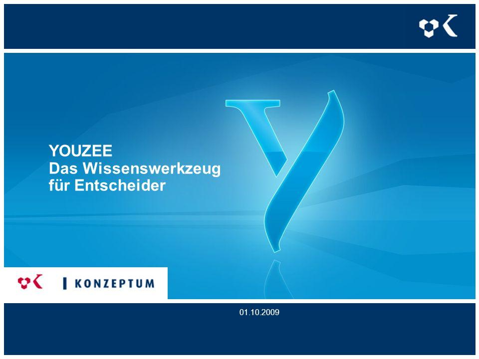 YOUZEE Das Wissenswerkzeug für Entscheider 01.10.2009