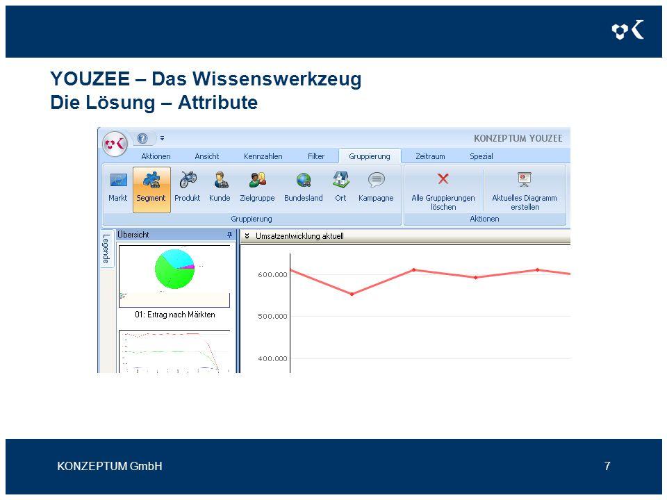 YOUZEE – Das Wissenswerkzeug Die Lösung – Zoom / Drill-Down KONZEPTUM GmbH8