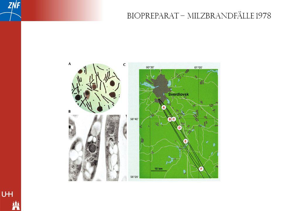 BIOPREPARAT – Milzbrandfälle 1978