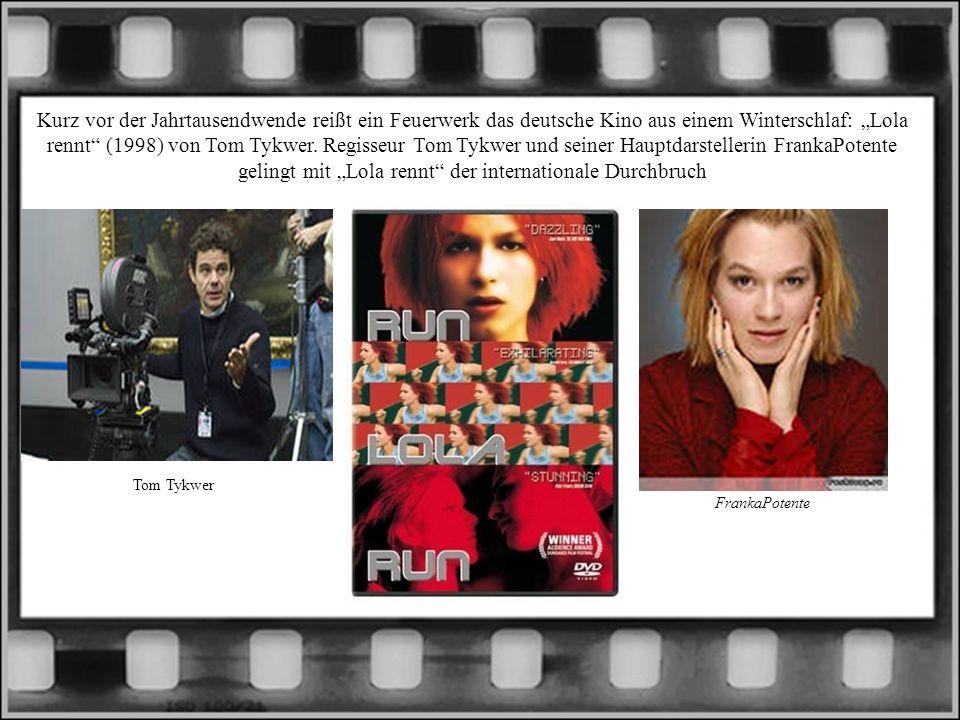 Kurz vor der Jahrtausendwende reißt ein Feuerwerk das deutsche Kino aus einem Winterschlaf: Lola rennt (1998) von Tom Tykwer. Regisseur Tom Tykwer und