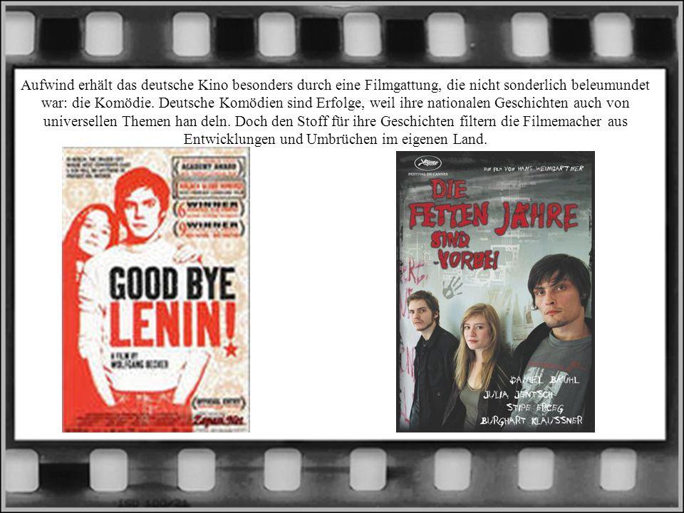 Aufwind erhält das deutsche Kino besonders durch eine Filmgattung, die nicht sonderlich beleumundet war: die Komödie. Deutsche Komödien sind Erfolge,