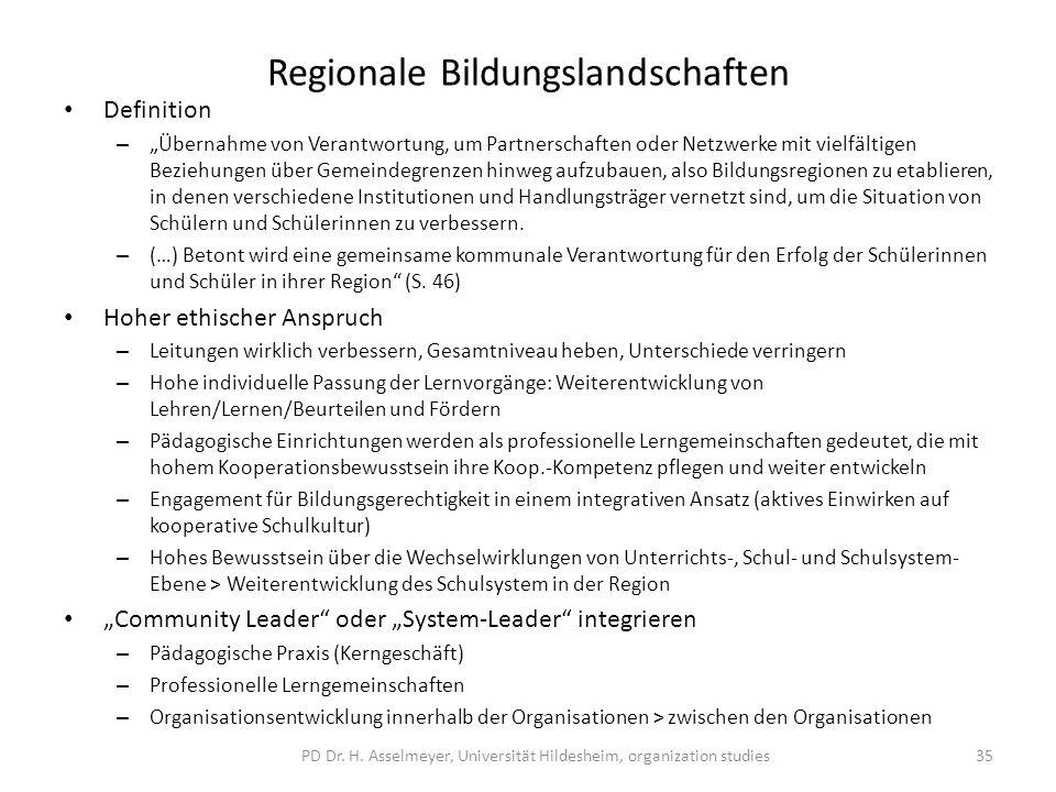 Regionale Bildungslandschaften Definition – Übernahme von Verantwortung, um Partnerschaften oder Netzwerke mit vielfältigen Beziehungen über Gemeindeg