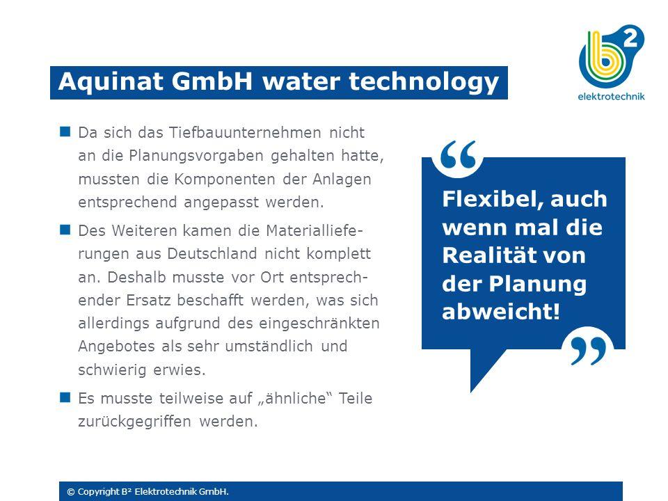 © Copyright B² Elektrotechnik GmbH.
