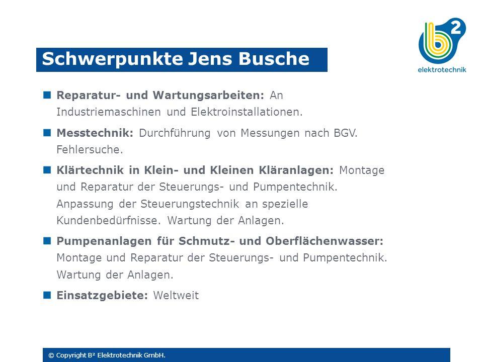 Reparatur- und Wartungsarbeiten: An Industriemaschinen und Elektroinstallationen.