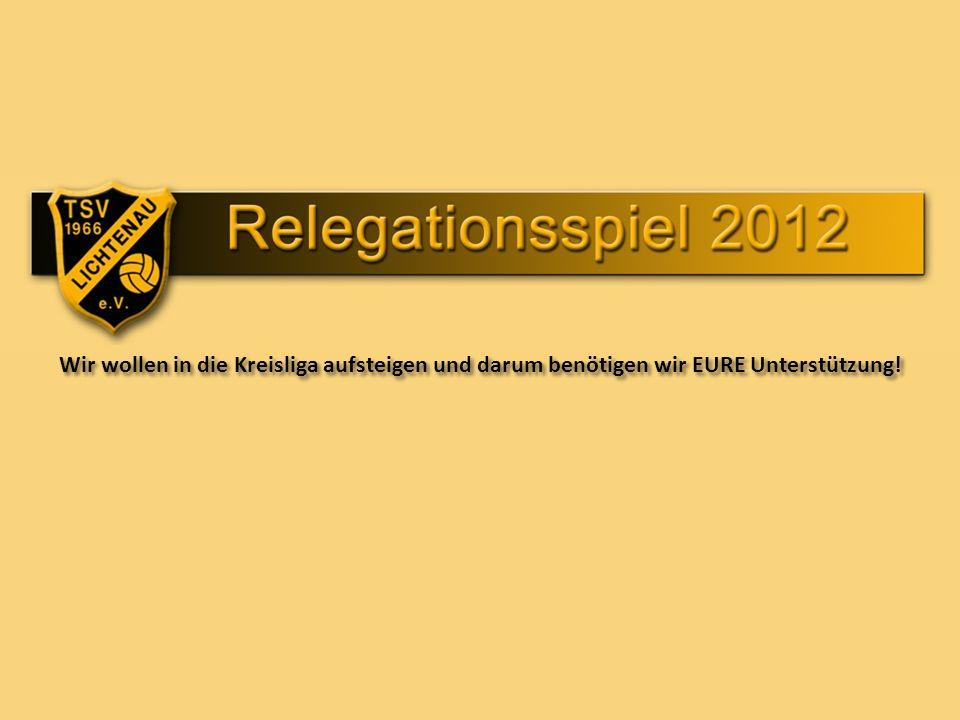 Entscheidungsspiele zur Kreisliga: Spiel 1: TSV Mailing-Feldkirchen – TSV Altmannstein am Sonntag 03.