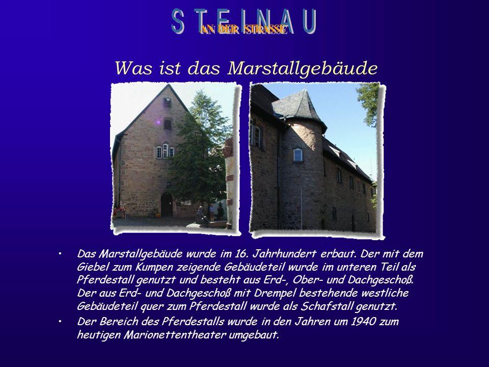 Das Marstall-Gebäude Dieses historische Gebäude, im Herzen Steinaus, inmitten der liebenswerten Altstadt, bietet sich als 3 - 4 Sterne Hotel mit kreat