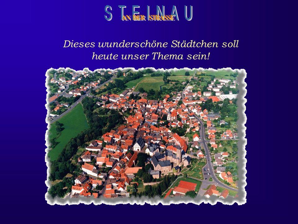 Märchen werden Wirklichkeit Im schönen Kinzigtal, an der alten Handelsstraße zwischen Frankfurt und Leipzig, liegt Steinau an der Straße, das für sein