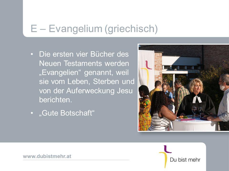 Impressum Evangelische Kirche A.B.Text: H. Reiner, gekürzt C.