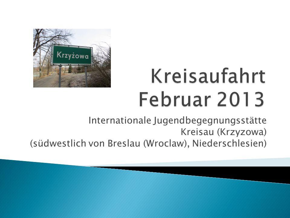 Internationale Jugendbegegnungsstätte Kreisau (Krzyzowa) (südwestlich von Breslau (Wroclaw), Niederschlesien)