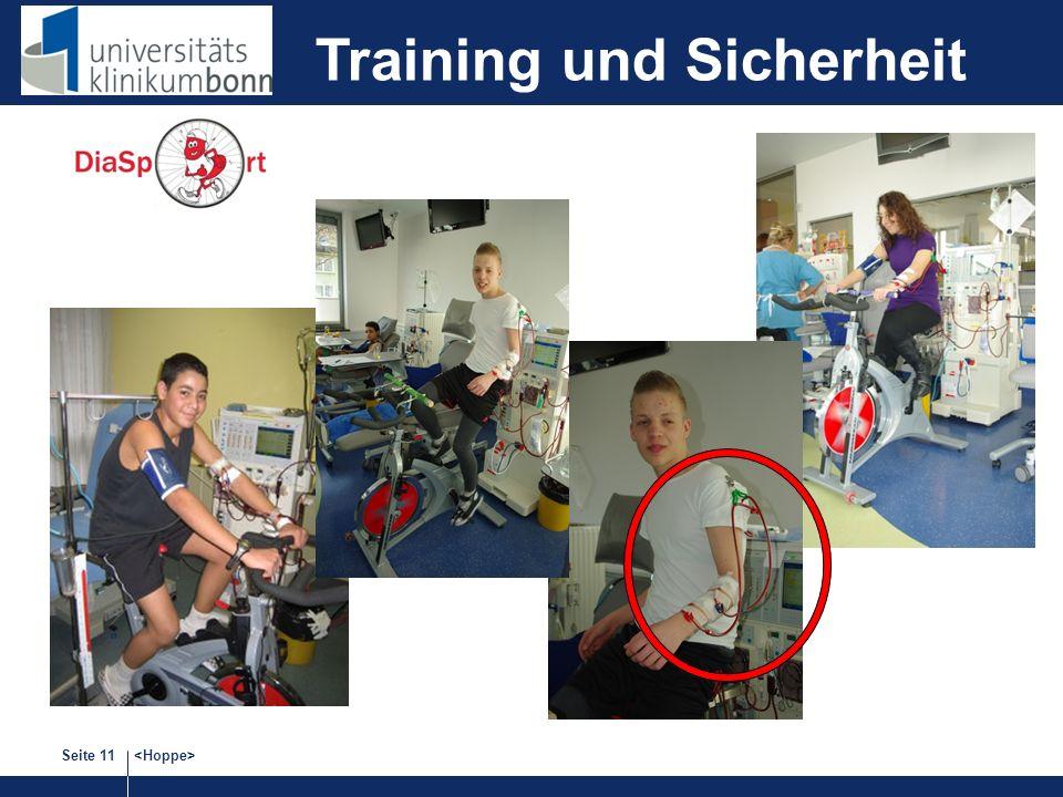 Seite 11 Training und Sicherheit