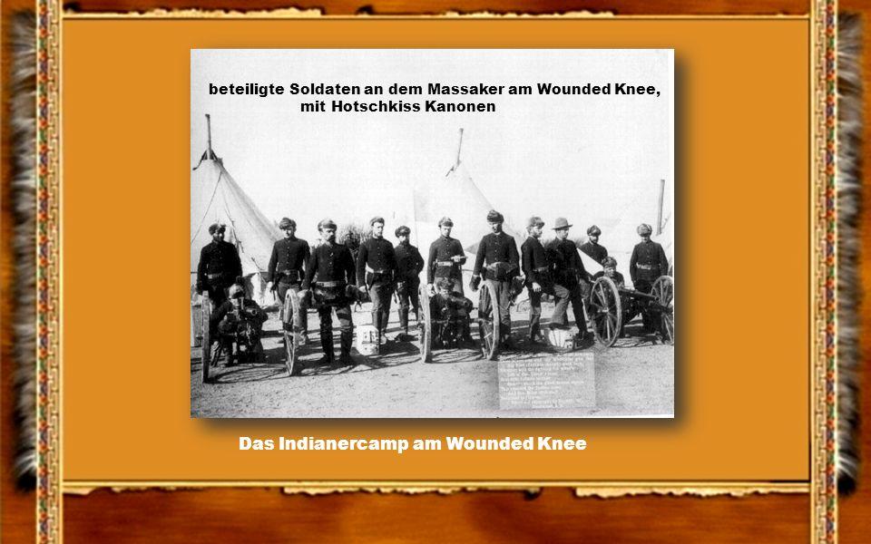 Das Massaker von Wounded Knee am 29.