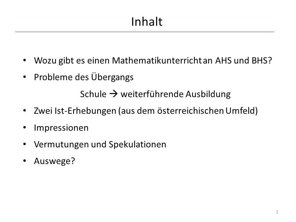 FH Technikum Wien, Sommer 2012 Typische Testfragen: Aufgabe 3a: Lösen Sie die folgende Gleichung:  2x + 1  = 7.