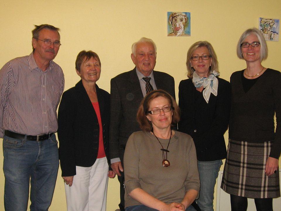 Kempfenhausen Mai 2007: Neuwahl des Vorstandes