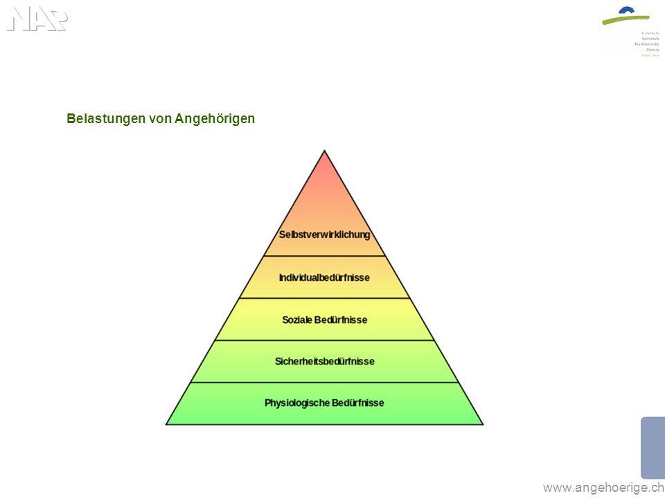www.angehoerige.ch Belastungen von Angehörigen