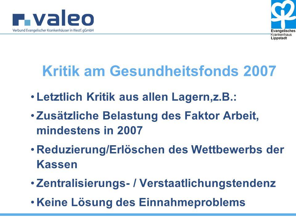 Situation 2010 Neue Koalitionskonstellation, FDP führt das BMG, Regierungskomm.