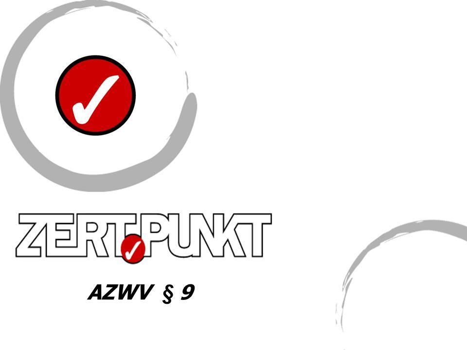AZWV § 9