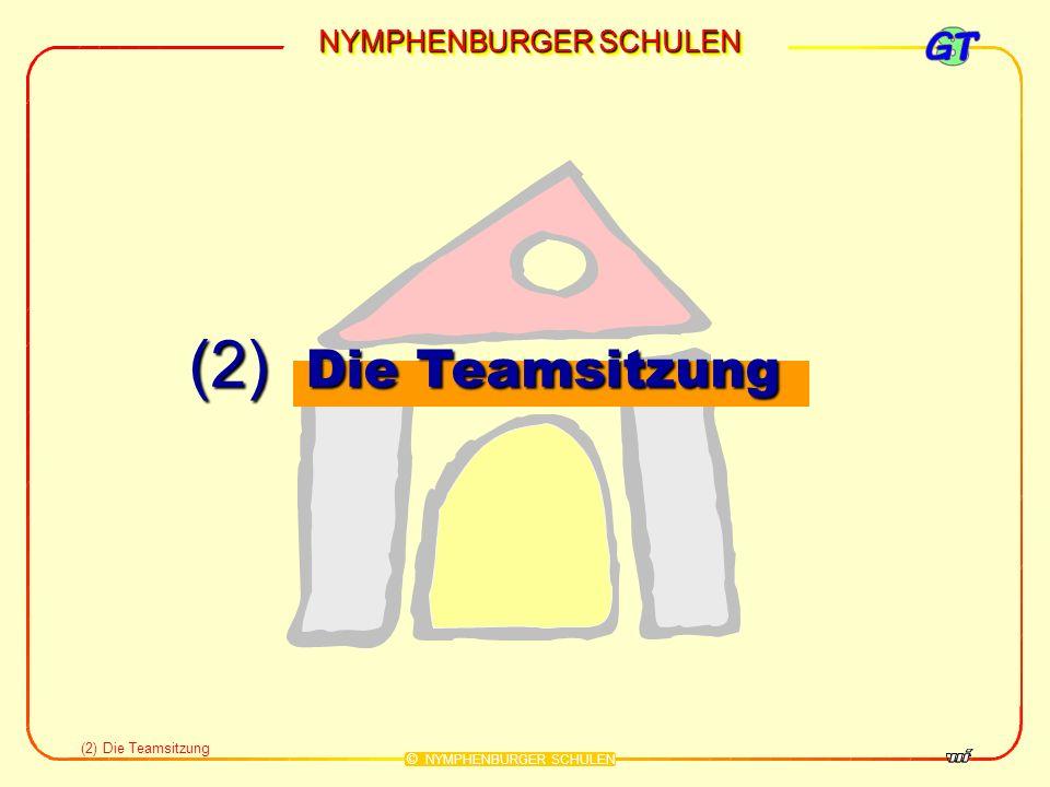 NYMPHENBURGER SCHULEN © NYMPHENBURGER SCHULEN Teamsitzung Alle Lehrerteams der 5.