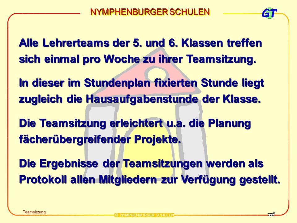 NYMPHENBURGER SCHULEN © NYMPHENBURGER SCHULEN (3) Die Klassleiter- und die SKILL-Stunde (3) Die Klassleiter- und die SKILL-Stunde