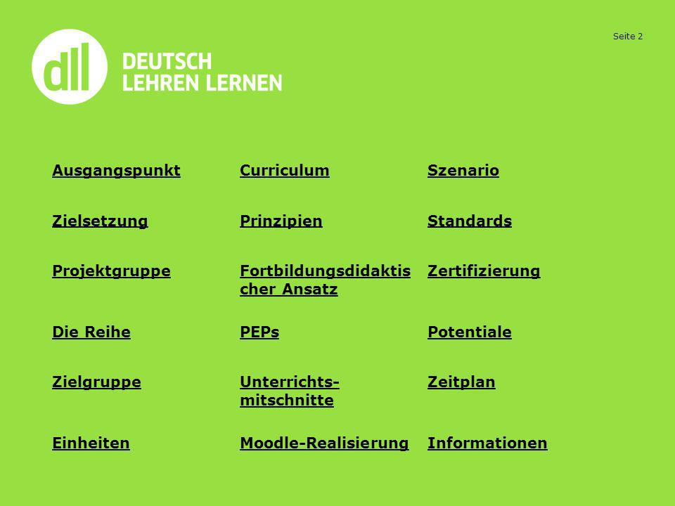 Seite 23 Impulse für PEPs Sehen Sie Goethe-Institut München Sequenz 5 und 6 und notieren Sie Ihre Beobachtungen.