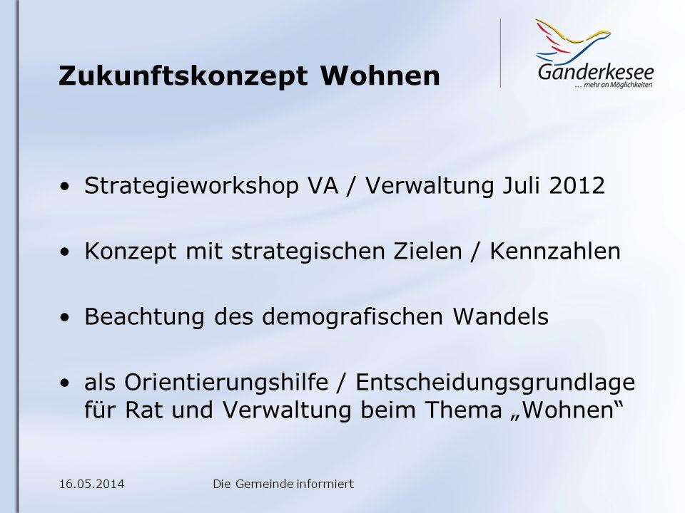 16.05.2014Die Gemeinde informiert Versand 16.07.2012