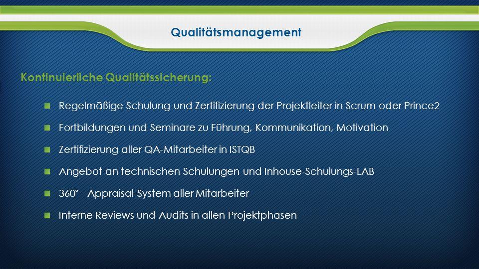 Kontinuierliche Qualitätssicherung: Regelmäßige Schulung und Zertifizierung der Projektleiter in Scrum oder Prince2 Fortbildungen und Seminare zu Führ