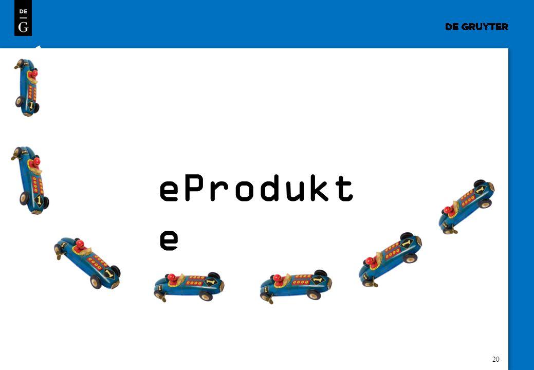 20 eProdukt e