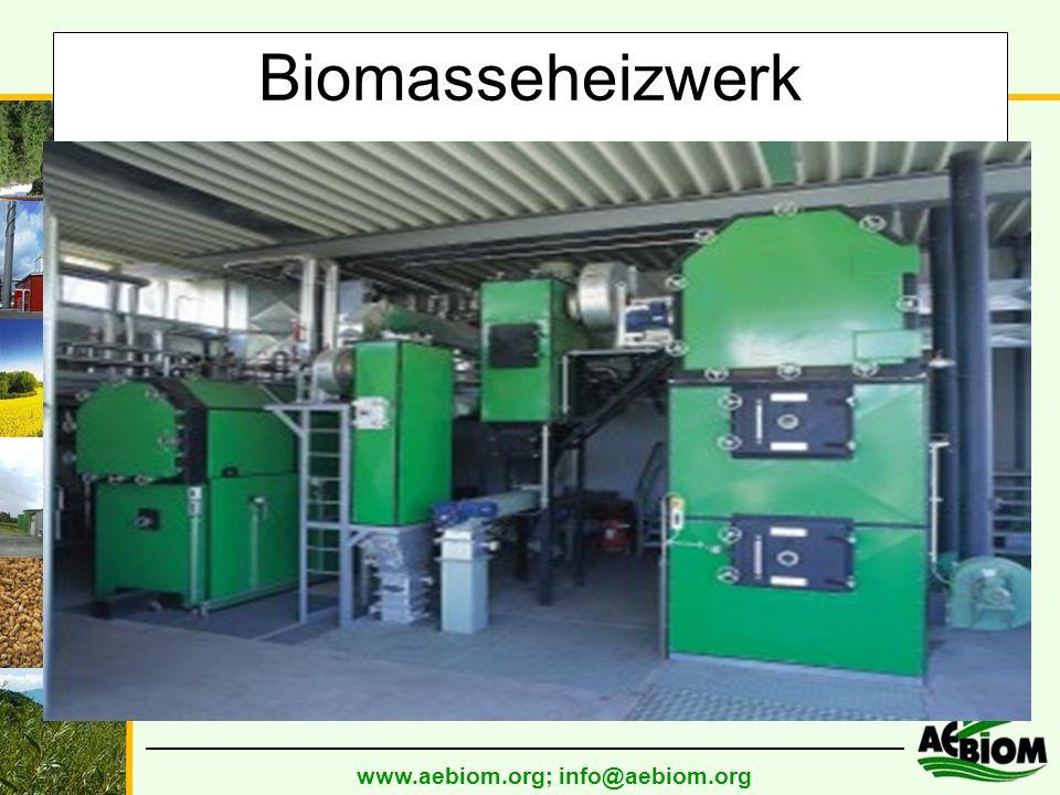 www.aebiom.org; info@aebiom.org Biomasseheizwerk