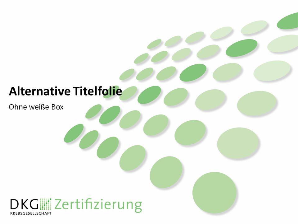 Alternative Titelfolie Ohne weiße Box