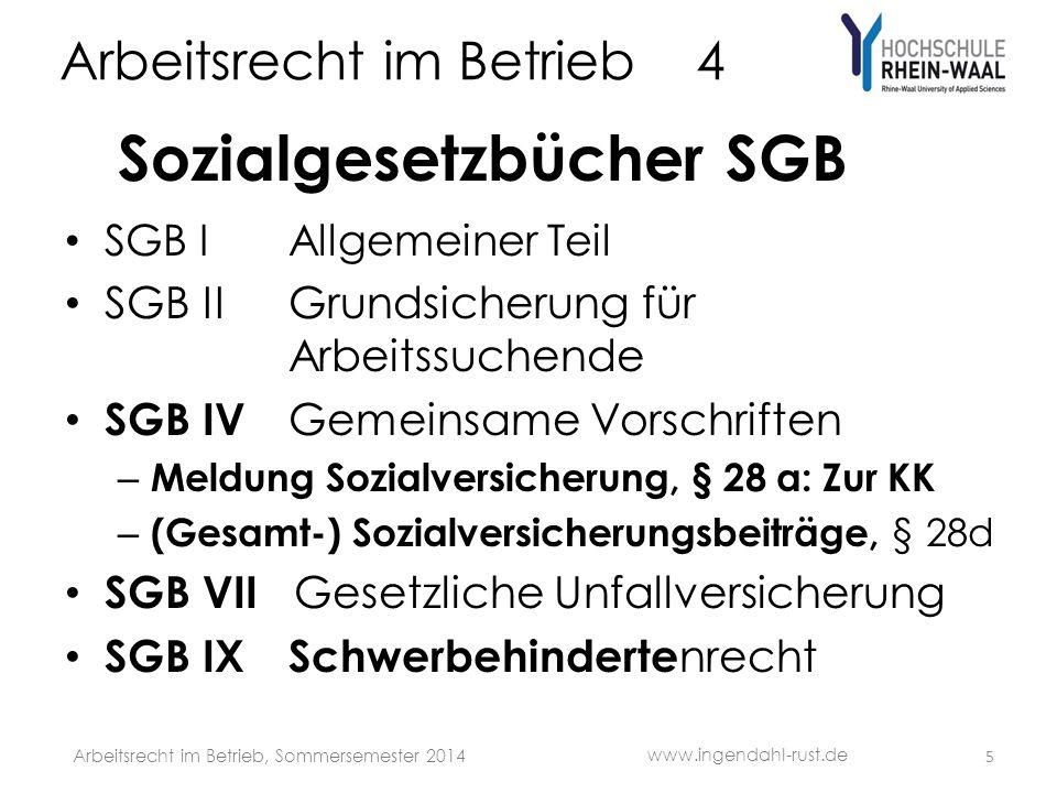 Arbeitsrecht im Betrieb 4 S Fall: Gerüstabsturz Fa.
