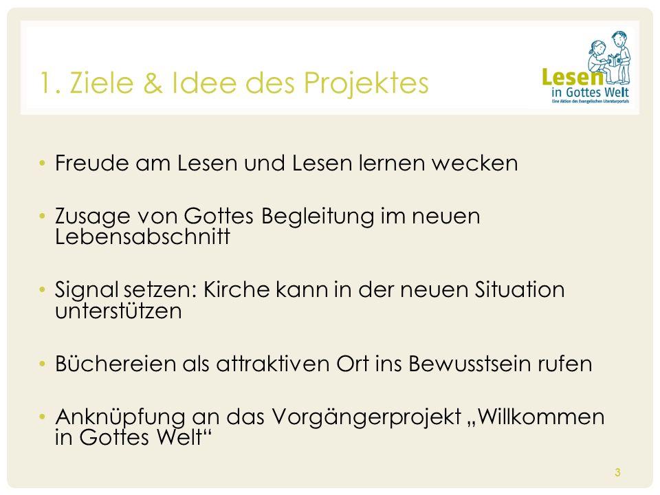 Arbeitshilfe Gemeinde mit Bausteinen zu verschiedenen Übergabesituation (thematischer Schwerpunkt: Segen) Arbeitshilfe Büchereien Arbeitshilfe Grundschule/ Religionsunterricht (in Planung für 2015) 14 4.