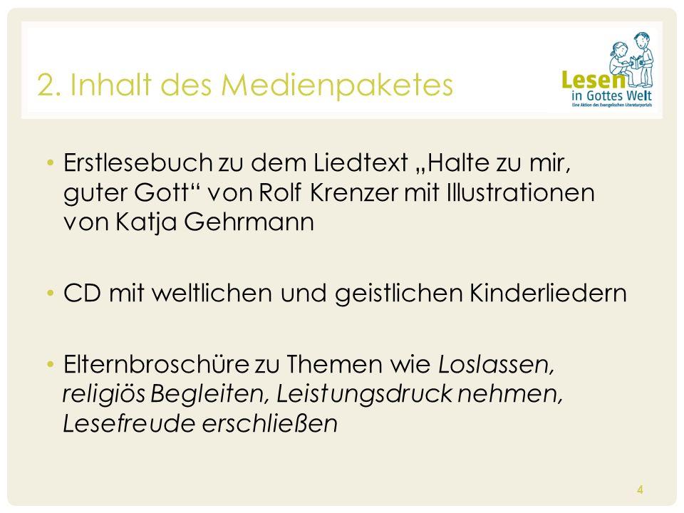 Erstlesebuch zu dem Liedtext Halte zu mir, guter Gott von Rolf Krenzer mit Illustrationen von Katja Gehrmann CD mit weltlichen und geistlichen Kinderl