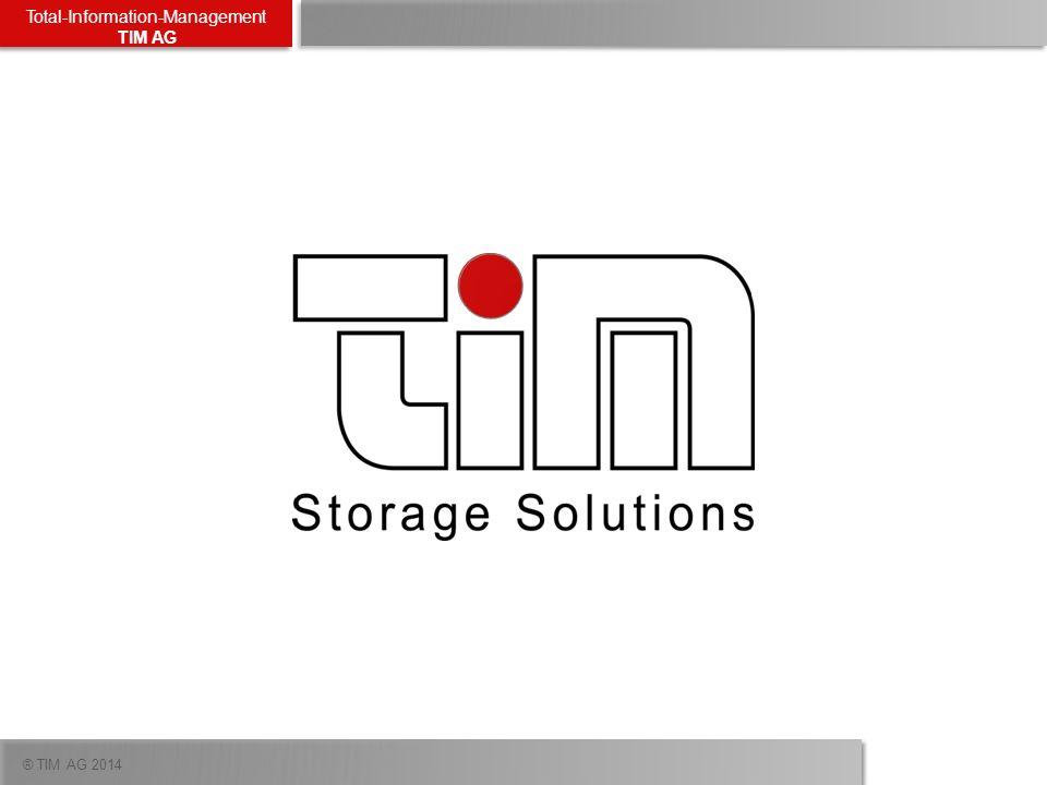 ® TIM AG 2014 Total-Information-Management TIM AG TIM | EMC Demoequipment 3 x DD160 3,5 TB 2 x VNX5200 6x EFDs / 15x 600GB 15k FC Platten, 9 x 1TB NL-SAS Platten (inkl.