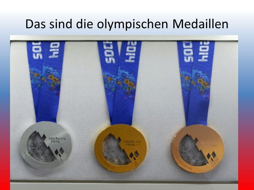 Das sind die olympischen Medaillen