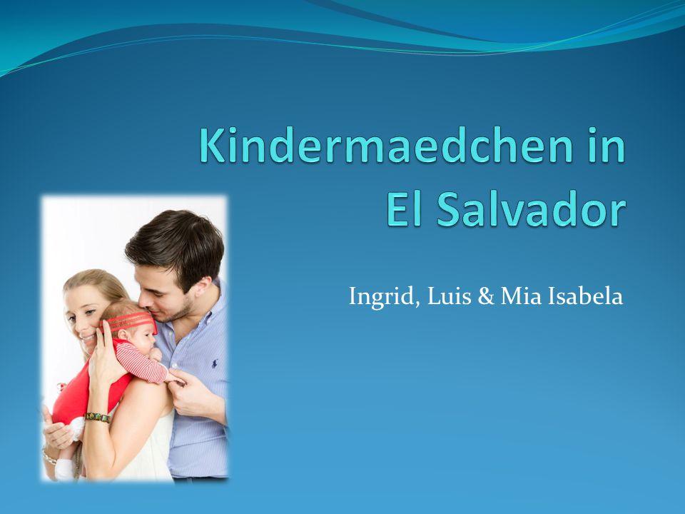 Ingrid, Luis & Mia Isabela