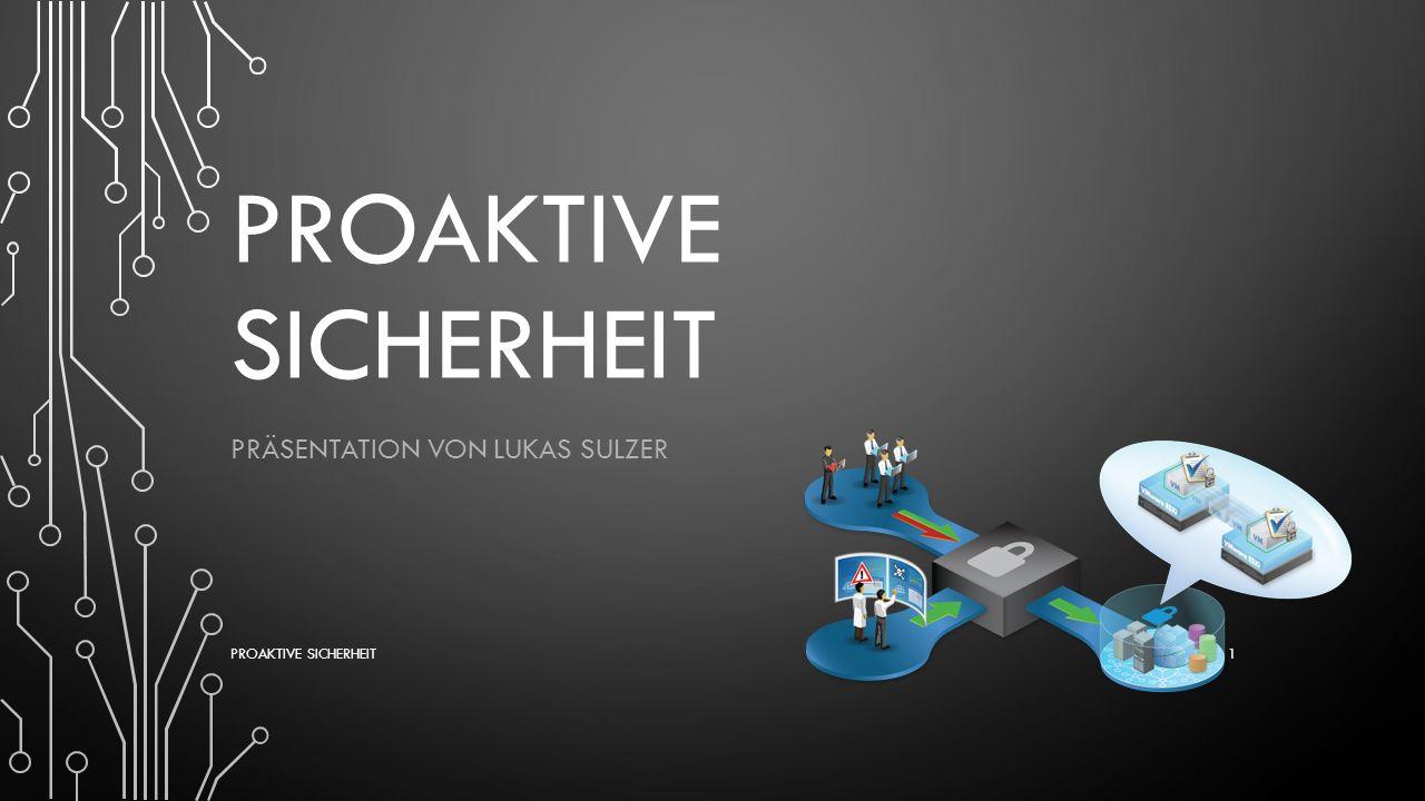 DIE KOMPONENTEN-VERFÜGBARKEIT UND –SICHERHEIT Jeder Prozess, der inaktiv ist, ist ein potenzielles Risiko weniger Protokolle und Hardware, die eine Verfügbarkeit garantieren sind: Redundante Netzteile bei systemkritischen Komponenten, Redundante Switch/Router-Hardware, Redundante physikalische Verbindung Redundante Routingprotokolle PROAKTIVE SICHERHEIT 12