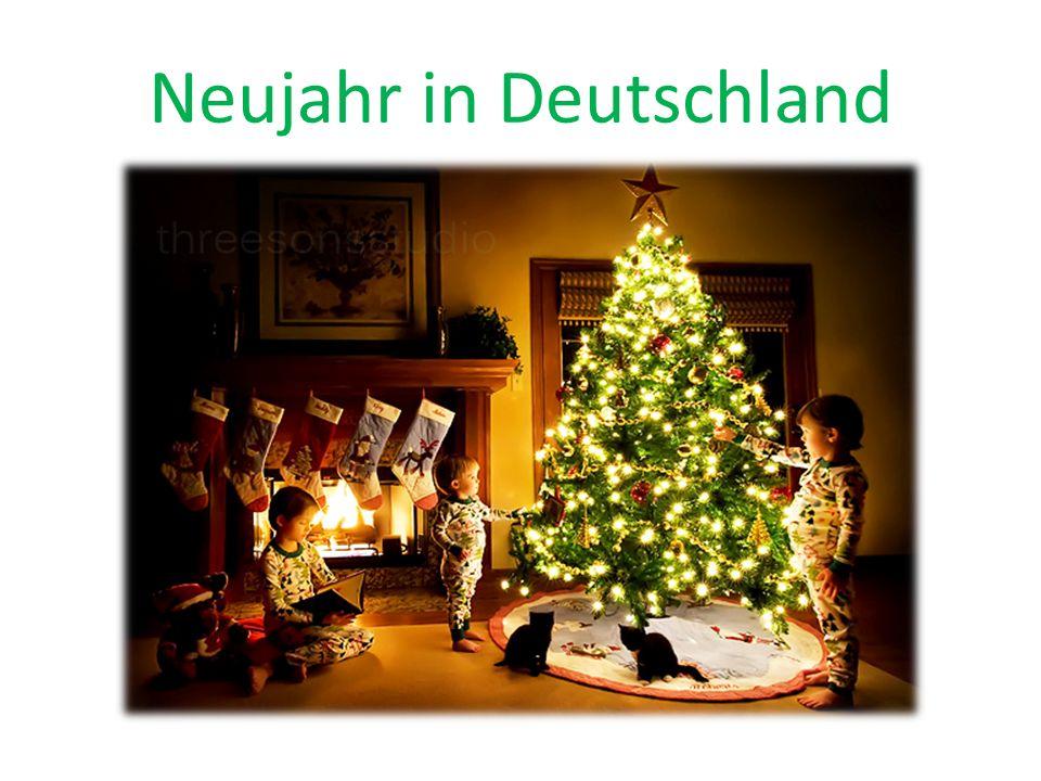 Neujahr in Deutschland