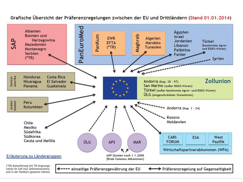 Nichtpräferenzielles Ursprungszeugnis - Länderbeispiele EU arabische Staaten wie Saudi-Arabien, Kuwait, Qatar, USA, Südamerika, Iran, China, Japan, europäischer Osten wie Russland, Ukraine 5