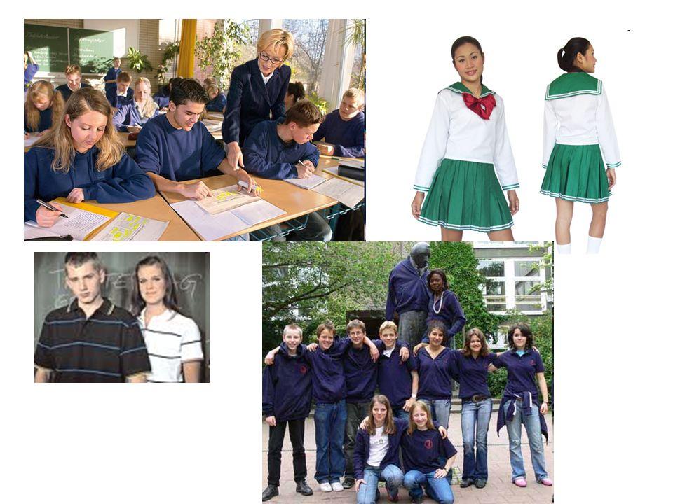 Sollte man an unserer Schule einheitliche Schulkleidung einführen.
