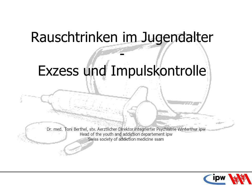 12 Konsum von Alkohol in der Schweiz 188014.3 Liter/pro Kopf 190215.3 Liter 19458.0 Liter 198111.2 Liter 20078.8 Liter